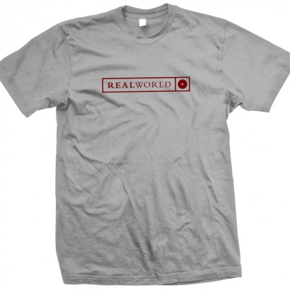 Grey Real World T-Shirt